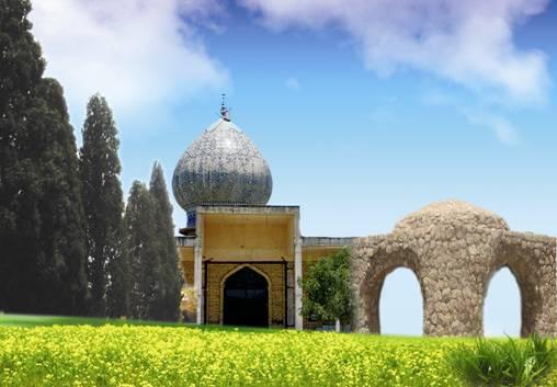 بنا های تاریخی شهرستان خرامه